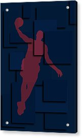 Cleveland Cavaliers Lebron James 2 Acrylic Print by Joe Hamilton