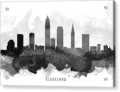 Cleveland Cityscape 11 Acrylic Print
