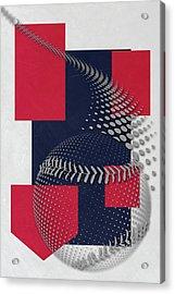 Cleveland Indians Art Acrylic Print by Joe Hamilton