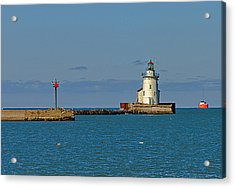 Cleveland Lighthouse Acrylic Print
