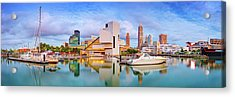 Acrylic Print featuring the photograph Cleveland  Pano 1  by Emmanuel Panagiotakis