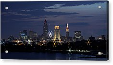 Cleveland Starbursts Acrylic Print