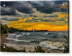 Cleveland Waves Acrylic Print