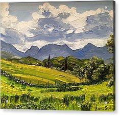 Clifden Landscape Ireland Acrylic Print