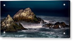 Cliff House San Francisco Seal Rock Acrylic Print by Steve Siri