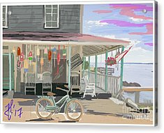 Cliff Island Store 2017 Acrylic Print