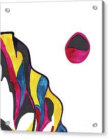 Cliff Acrylic Print