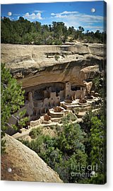 Acrylic Print featuring the photograph Cliff Palace by Jeff Loh