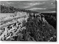 Cliff Palace Acrylic Print by Joseph Smith
