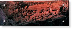 Cliff Palace Mesa Verde National Park Acrylic Print by Panoramic Images