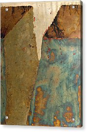 Cliff Two Acrylic Print by Wayne Berger