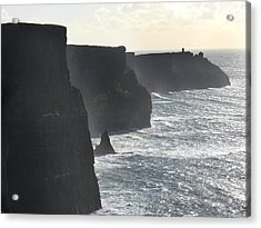 Cliffs Of Moher 1 Acrylic Print by Mike McGlothlen