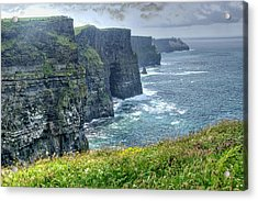 Cliffs Of Moher Acrylic Print by Alan Toepfer