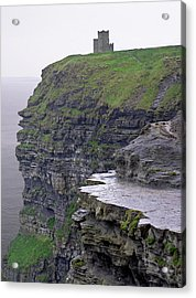 Cliffs Of Moher Ireland Acrylic Print by Charles Harden