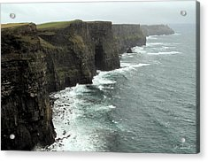 Cliffs Of Moher Acrylic Print by Joe Bonita