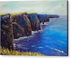 Cliffs Of Moher Acrylic Print by Joyce A Guariglia