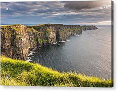 Cliffs Of Moher On The West Coast Of Ireland Acrylic Print
