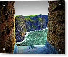 Cliffs Personalized Acrylic Print