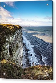 Acrylic Print featuring the photograph Cliffside View by Anthony Baatz