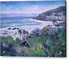 Clifton Beach  Cape Town South Africa 2006  Acrylic Print by Enver Larney