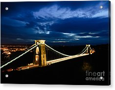 Clifton Suspension Bridge, Bristol. Acrylic Print