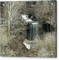 Clifty Falls - Late Fall In Indiana Acrylic Print