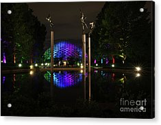 Acrylic Print featuring the photograph Climatron 2017 by Andrea Silies