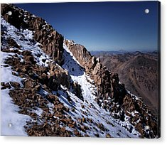 Acrylic Print featuring the photograph Climb That Mountain by Jim Hill