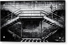 Climb The Stairs Acrylic Print
