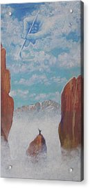 Climb To The Heavens Acrylic Print by Marjorie Hause