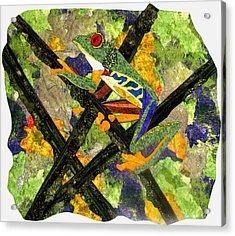 Climbing Higher Acrylic Print by Lynda K Boardman