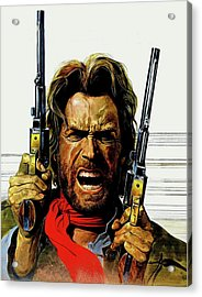 Clint Eastwood As Josey Wales Acrylic Print
