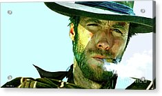Clint Eastwood - The Man With No Name Acrylic Print