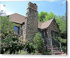 Clinton House Museum 3 Acrylic Print by Randall Weidner