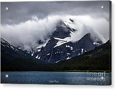Cloaked In Storm Acrylic Print
