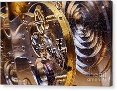 Clock Gears Acrylic Print