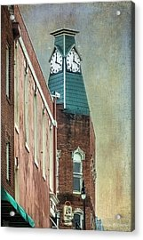 Clock Tower Downtown Statesville North Carolina Acrylic Print