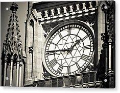 Clock Tower Acrylic Print by Martina Heart
