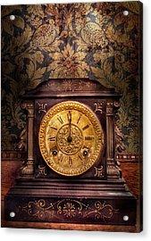 Clockmaker - Wolf Clock  Acrylic Print