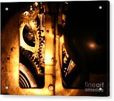 Clockwork Acrylic Print by Jason Williams