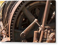 Clockworks Acrylic Print by Jennifer Apffel