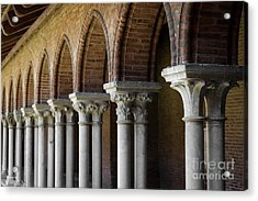 Acrylic Print featuring the photograph Cloister, Couvent Des Jacobins by Elena Elisseeva