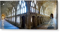 Cloisters, Gloucester Cathedral Acrylic Print