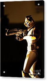 Acrylic Print featuring the photograph Clone Trooper 7 by Micah May