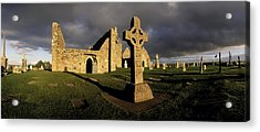 Clonmacnoise Monastery, Co Offaly Acrylic Print by The Irish Image Collection