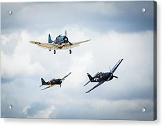 Close Quarters Acrylic Print by Brian Knott Photography