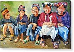 Close Thais Acrylic Print