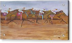 Close To The Finish Line Acrylic Print by Anthony Morretta