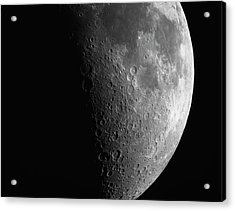 Close-up Of Moon Acrylic Print