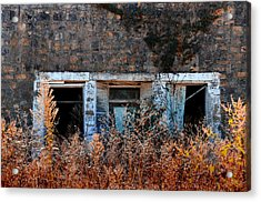Closed 'til Spring Acrylic Print by Lyle  Huisken